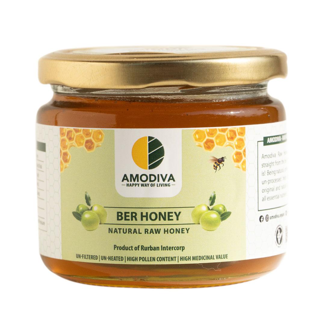 Natural Raw Honey Ber 350 gm