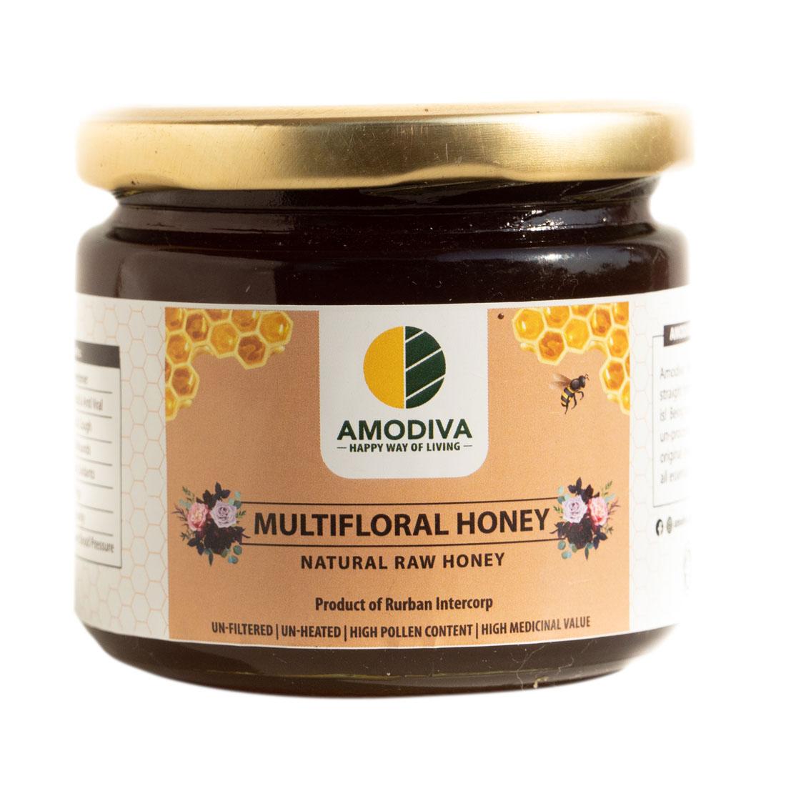 Natural Raw Honey Multiflora 350 gm